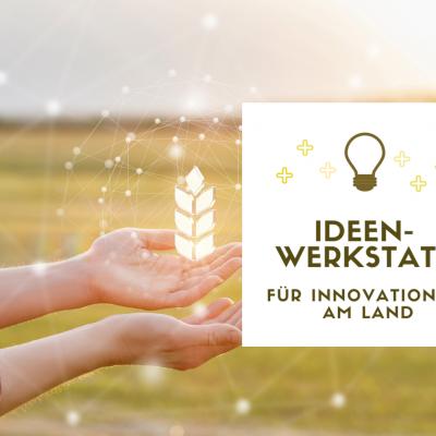 Ideenwerkstatt für Innovationen am Land #2 am 4. 2. 2021 (online)